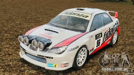 Subaru Impreza WRX STI N12 para GTA 4