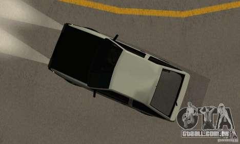 Toyota Sprinter Trueno GT-APEX AE86 83 Initial D para GTA San Andreas vista traseira