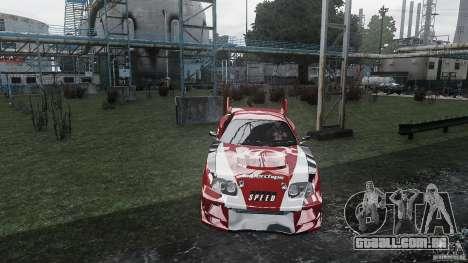 Toyota Supra Apexi Race System para GTA 4 vista direita
