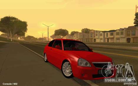 Lada Priora Coupe para GTA San Andreas