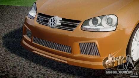 Volkswagen Golf R32 v2.0 para GTA 4 vista lateral