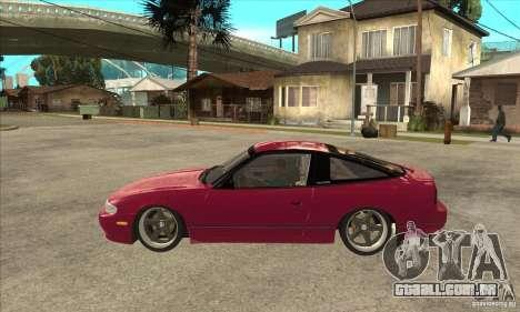 Nissan 240SX Zenki para GTA San Andreas esquerda vista