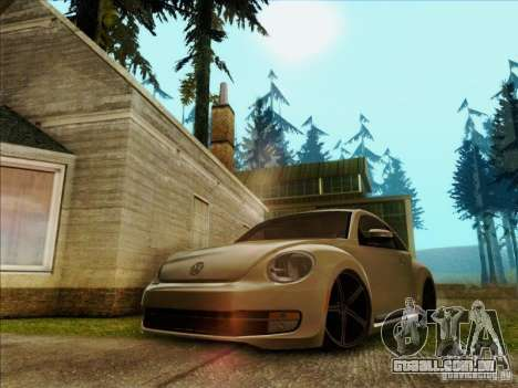 Volkswagen New Bettle 2013 Edit para GTA San Andreas
