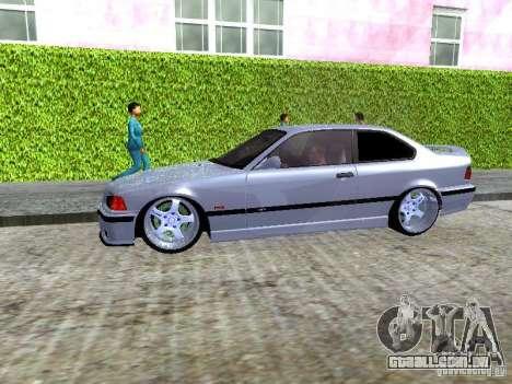 BMW M3 E36 Light Tuning para GTA San Andreas vista interior