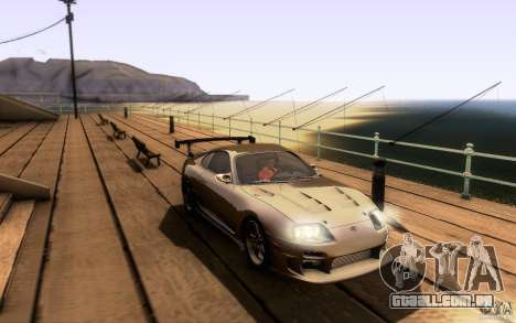 Toyota Supra Top Secret para GTA San Andreas interior