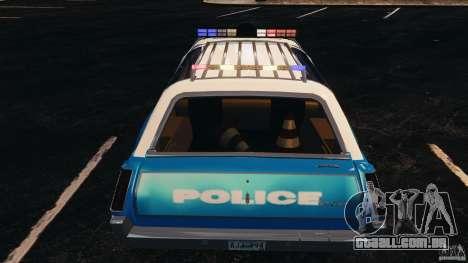 Oldsmobile Vista Cruiser 1972 Police v1.0 [ELS] para GTA 4