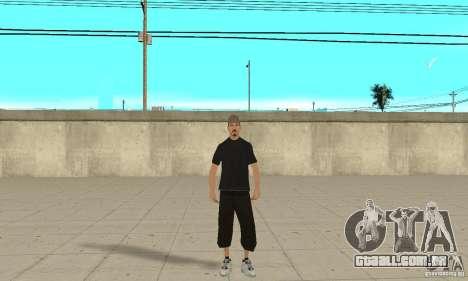 David Blane Skin para GTA San Andreas segunda tela
