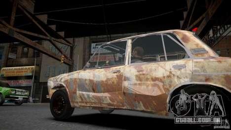 Rusty 2106 VAZ para GTA 4 esquerda vista