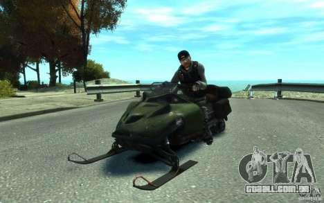 Snowmobile para GTA 4