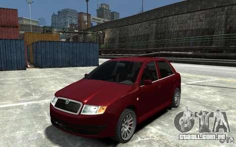 Skoda Fabia para GTA 4
