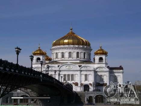 Tela de boot Moscou para GTA San Andreas