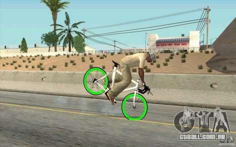 Fixie Bike para GTA San Andreas vista direita