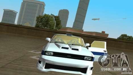 AZLK 2140 para GTA Vice City vista traseira esquerda