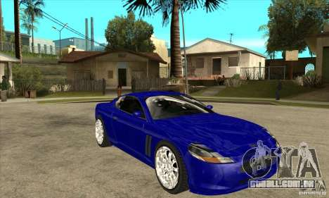 GTA IV SuperGT para GTA San Andreas vista traseira