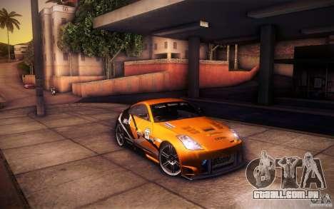 Nissan 350Z Fairlady para o motor de GTA San Andreas