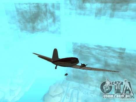 Bombas para os aviões para GTA San Andreas segunda tela