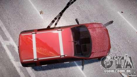 Ford EcoSport para GTA 4 vista superior