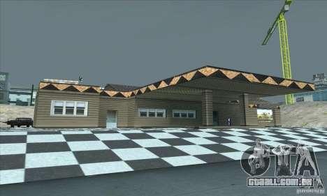 A garagem atualizada CJ em SF para GTA San Andreas segunda tela