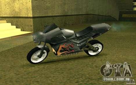 Motocicleta da cidade alienígena para GTA San Andreas