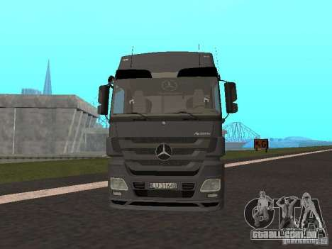 Mercedes-Benz Actros MP3 para GTA San Andreas esquerda vista
