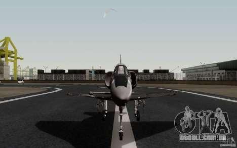 McDonnell Douglas A-4AR Fightinghawk para GTA San Andreas vista direita