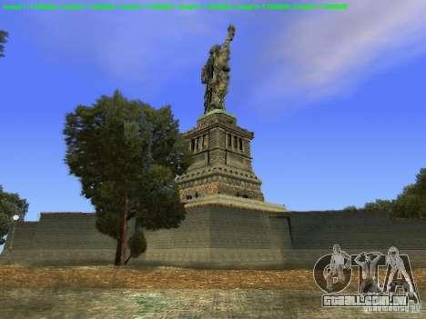 Estátua da liberdade 2013 para GTA San Andreas sexta tela