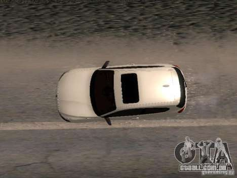 BMW M135i para GTA San Andreas vista interior