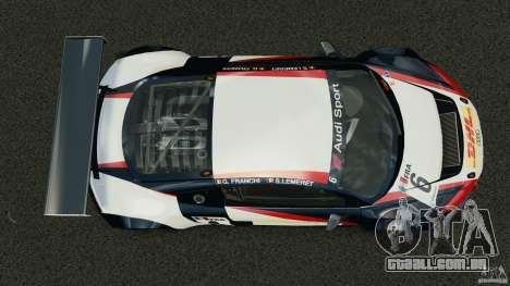 Audi R8 LMS para GTA 4 vista direita