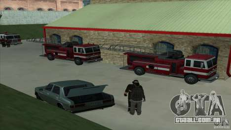 O fogo animado o SF v 3.0 Final para GTA San Andreas terceira tela