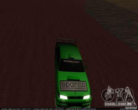 Novos vinis no Sultan para GTA San Andreas esquerda vista