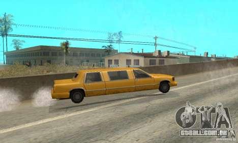 VIP TAXI para GTA San Andreas sexta tela