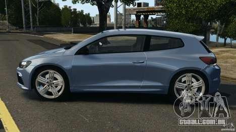Volkswagen Scirocco R v1.0 para GTA 4 esquerda vista