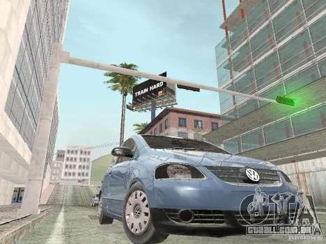 Volkswagen Fox 2011 para GTA San Andreas traseira esquerda vista
