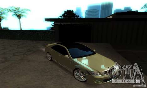 Mercedes-Benz S500 W221 Brabus para GTA San Andreas vista interior