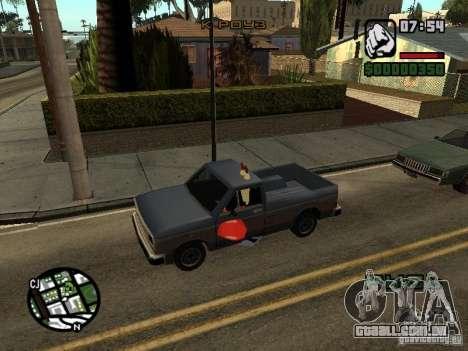 O Sr. Siriguejo para GTA San Andreas nono tela