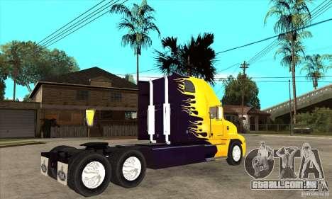 Mack para GTA San Andreas vista traseira