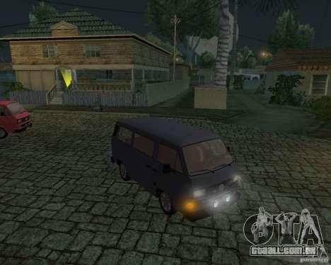 Volkswagen Transporter T3 para GTA San Andreas vista direita