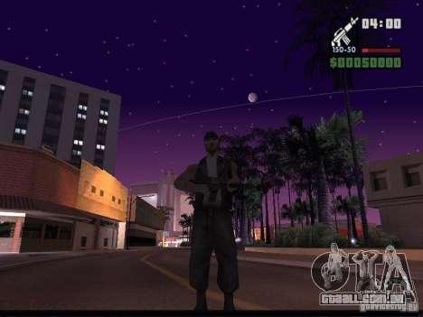 Céu estrelado v 2.0 (para SA: MP) para GTA San Andreas terceira tela