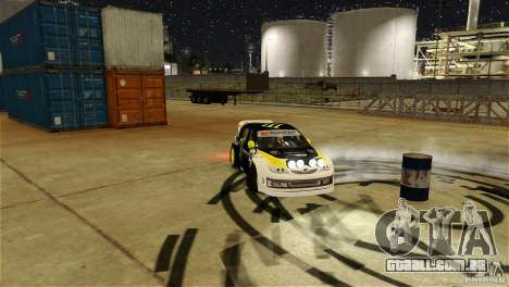 Subaru Impreza WRX STI Rallycross Monster Energy para GTA 4 vista inferior