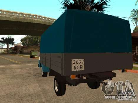 RAPH 33111 para GTA San Andreas traseira esquerda vista