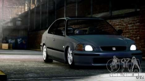Honda Civic Vti para GTA 4 vista direita
