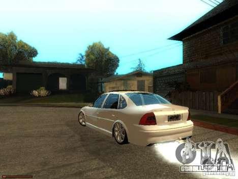 Chevrolet Vectra CD 2.2 16V 2003 para GTA San Andreas esquerda vista