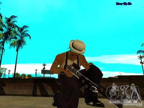 Trollface weapons pack para GTA San Andreas sexta tela