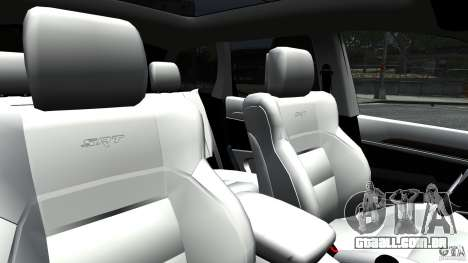 Jeep Grand Cherokee STR8 2012 para GTA 4 vista lateral