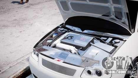 Audi A3 Tuning para GTA 4 vista lateral