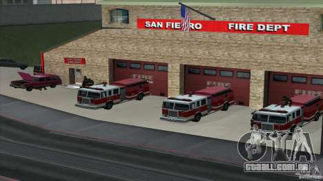 O fogo animado o SF v 3.0 Final para GTA San Andreas segunda tela