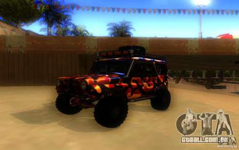 UAZ 4x4 para GTA San Andreas