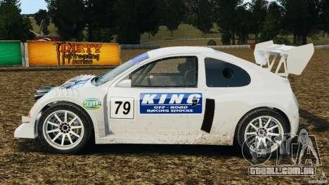 Colin McRae KING Rallycross para GTA 4 esquerda vista