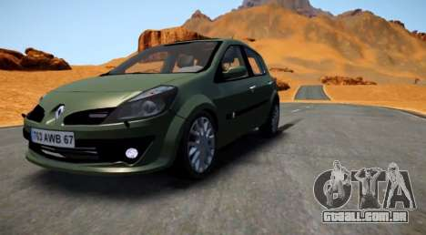 Renault Clio III para GTA 4