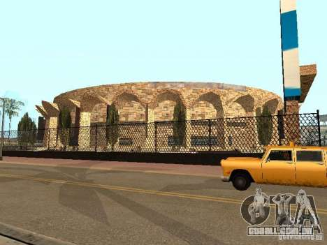 Um novo estádio em Los Santos para GTA San Andreas